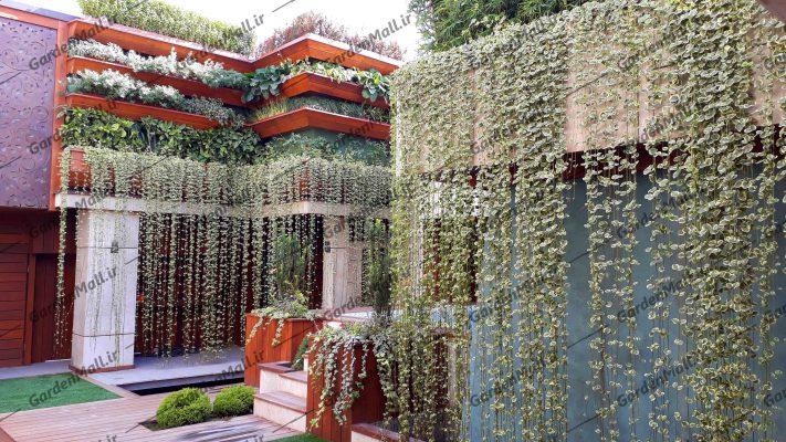 گاردن مال نمونه کار ها روف گاردن ، گرین وال، آبنما، محوطه سازی ، باغ آرایی، فضای سبز و...